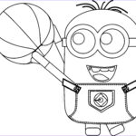 Minion Coloring Pages Pdf Inspirational Collection Minion Playing Basketball Coloring Pages 05
