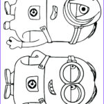 Minion Coloring Pages Pdf Luxury Collection Minions Coloring Pages Pdf At Getcolorings