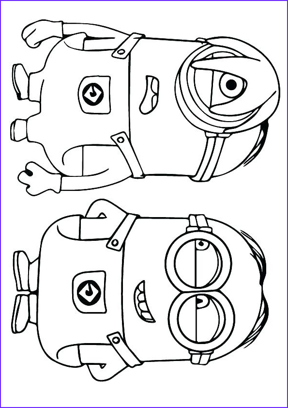 minions coloring pages pdf