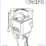 Minion Coloring Pages Pdf Luxury Photos Despicable Me 3 Minion In Prison Coloring Page