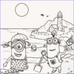 Minion Coloring Sheets New Photography Free Coloring Pages Printable To Color Kids