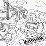 Minion Coloring Sheets Unique Collection Free Coloring Pages Printable To Color Kids