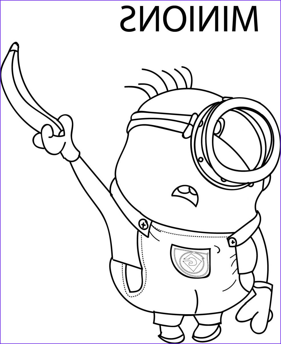 Minions Coloring Page Beautiful Photos Goo S © Despicable Me