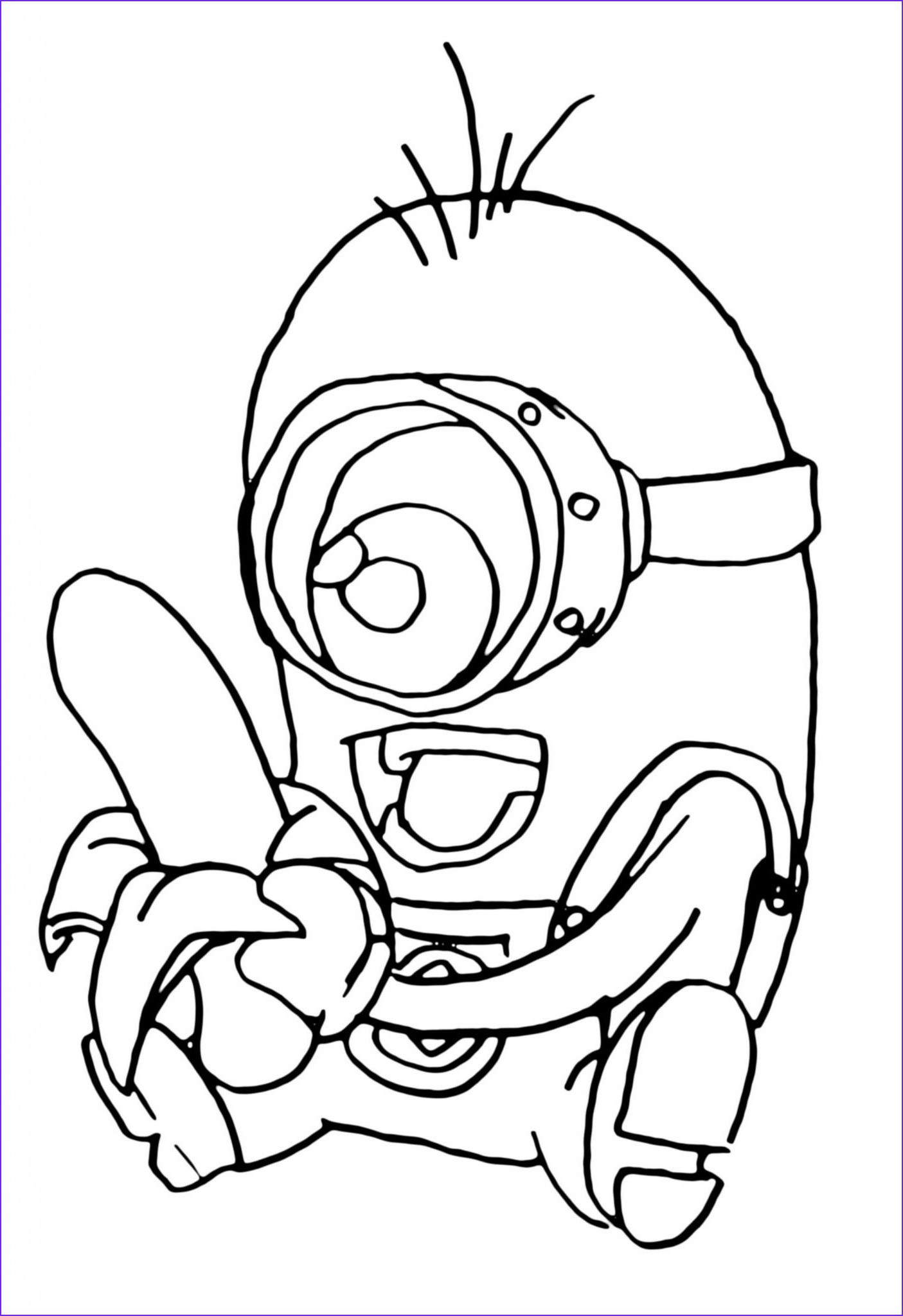 Minions Coloring Page Best Of Photography Print & Download Minion Coloring Pages for Kids to Have