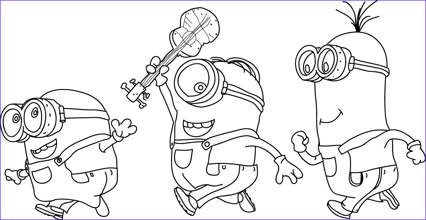 Minions Coloring Page Best Of Stock Minion Coloring Pages Best Coloring Pages for Kids