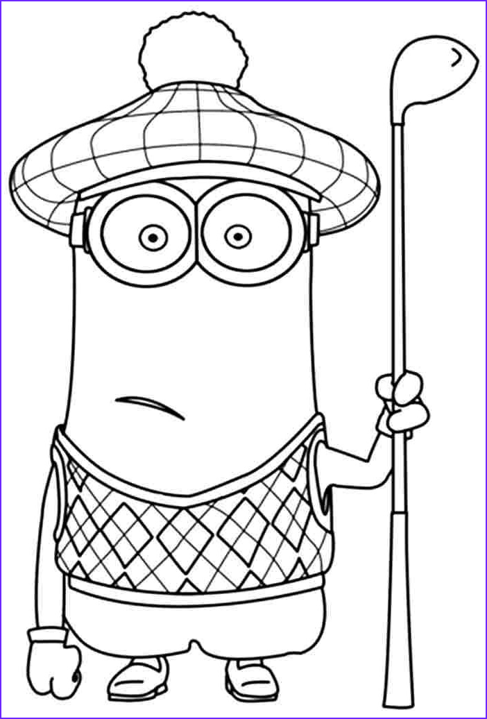 Minions Coloring Page Elegant Images Minion Coloring Pages Google Search