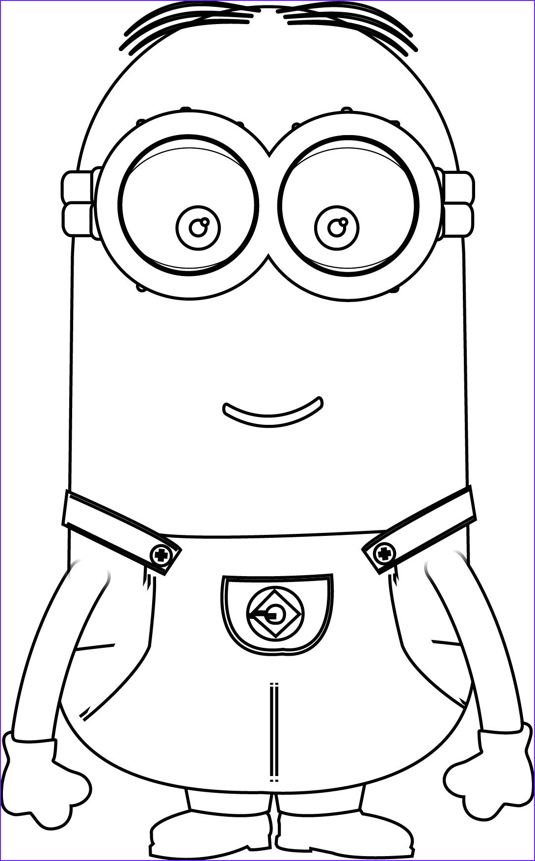 Minions Coloring Page Luxury Gallery Minions Kevin Perfect Coloring Page
