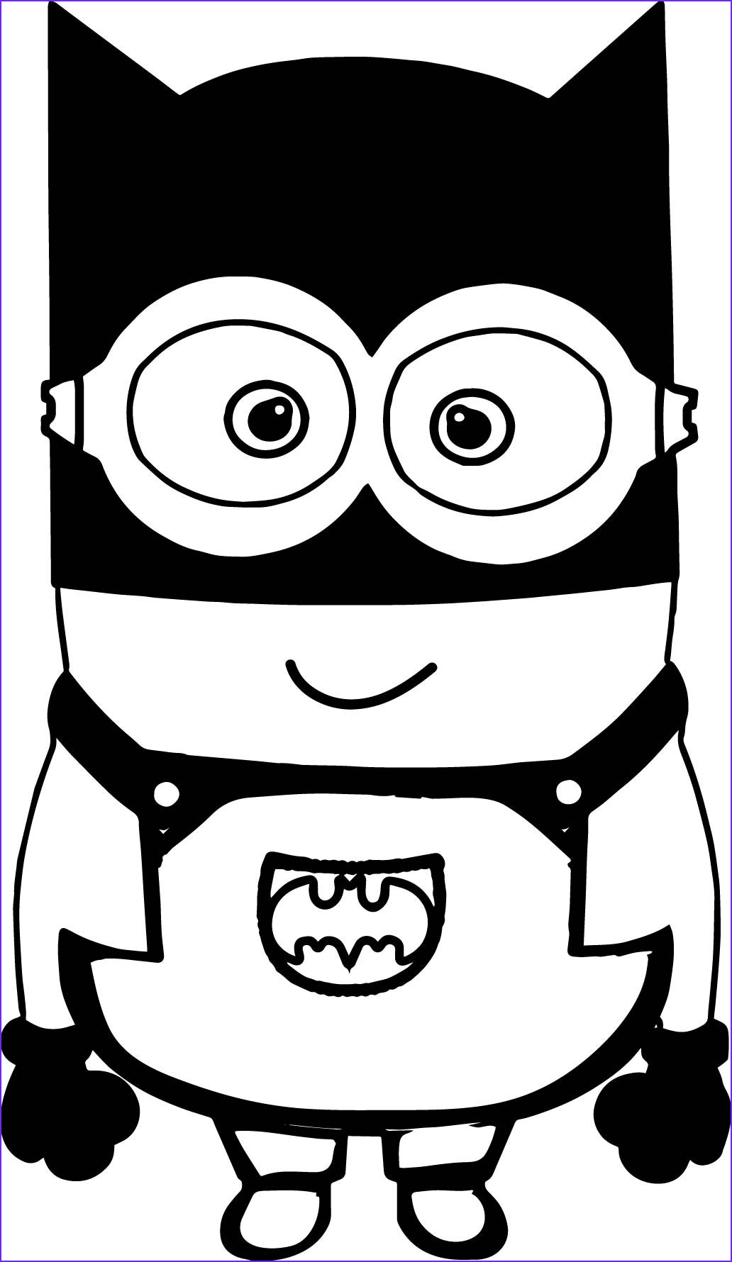 Minions Coloring Page Luxury Photos Minions Cartoon Drawing at Getdrawings