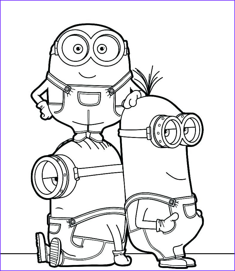 Minions Coloring Pages Elegant Photos Cartoon Coloring Pages Cartoon Coloring Pages