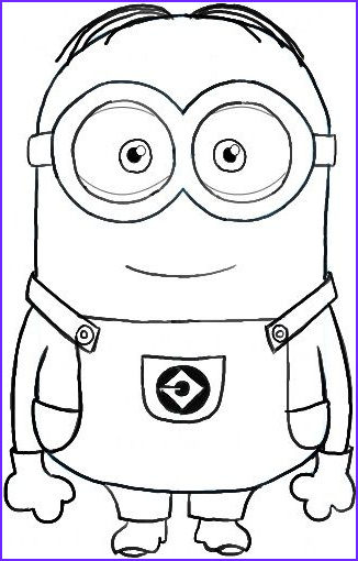 Minions Coloring Pages Luxury Photos Minion Coloring Pages Birthday Parties