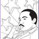 Mlk Coloring Page Inspirational Collection Martin Luther King Jr Coloring Page