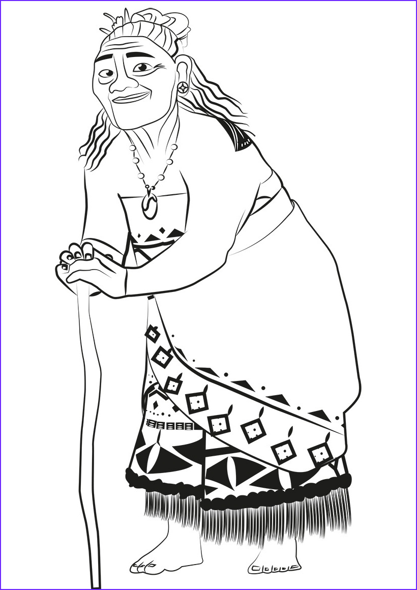 Moana Coloring Awesome Gallery Moana Coloring Pages to and Print for Free