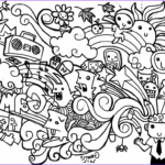 Monster Coloring Book Beautiful Images Doodle Coloring Pages Printable Coloring Image