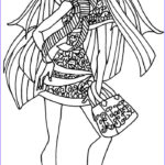 Monster High Coloring Book Awesome Photography 37 Best Images About Colouring Monster High On Pinterest