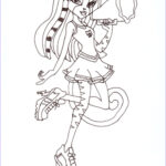 Monster High Coloring Book Beautiful Image Free Printable Monster High Coloring Pages Meowlody