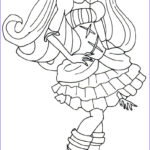 Monster High Coloring Book Luxury Image Free Printable Monster High Coloring Pages Elissabat Free