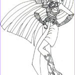 Monster High Coloring Book New Images Free Printable Monster High Coloring Pages Nefera De Nile