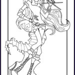 Monster High Coloring Book New Images Monster High Coloring Pages
