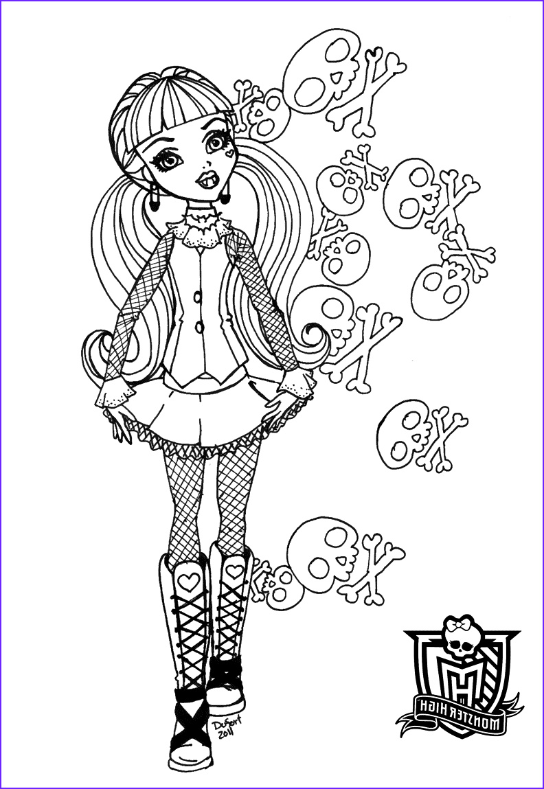 Monster High Coloring Pages Pdf Beautiful Image Coloring Pages Monster High Coloring Pages Free and Printable