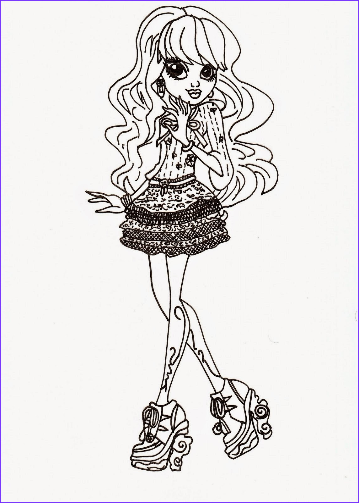 Monster High Coloring Pages Pdf Beautiful Photos Coloring Pages Monster High Coloring Pages Free And Printable