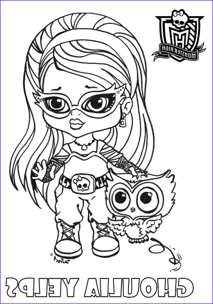 baby monster high character free