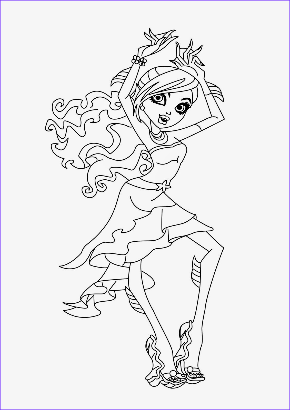 Monster High Coloring Pages Pdf Cool Photos Coloring Pages Monster High Coloring Pages Free And Printable