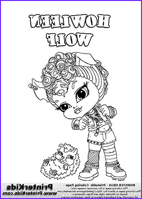 Monster High Coloring Pages Pdf Cool Photos Monster High Coloring Pages To Print