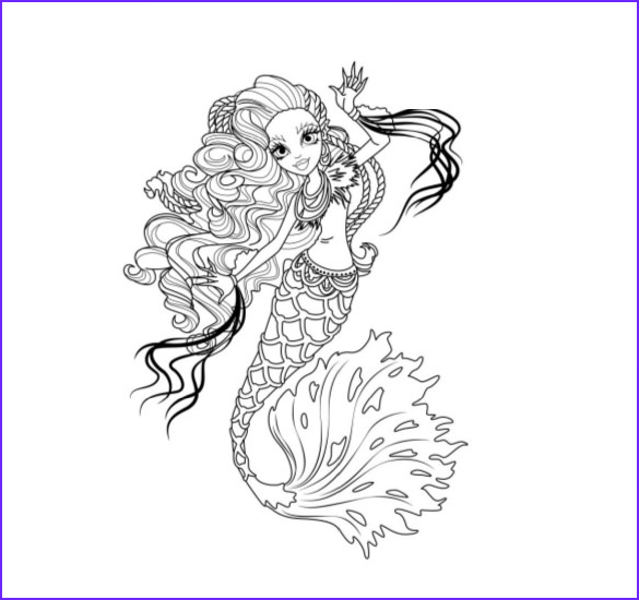 Monster High Coloring Pages Pdf New Image 19 Monster High Coloring Pages Psd Ai Vector Eps Pdf