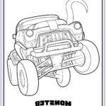 Monster Truck Coloring Book Beautiful Image Monster Trucks Printable Coloring Pages — All For The Boys