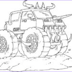 Monster Truck Coloring Book Best Of Images Monster Truck Coloring Pages For Boys