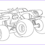 Monster Truck Coloring Book Cool Gallery Batman Monster Truck Coloring Page