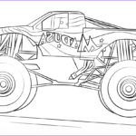 Monster Truck Coloring Book Cool Photos Madusa Monster Truck Coloring Page