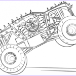 Monster Truck Coloring Book Luxury Collection 10 Monster Jam Coloring Pages To Print