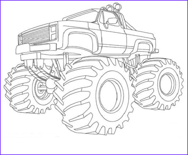 Monster Truck Coloring Book Unique Photography Monster Truck Coloring Book Pages for when Parker Finally