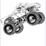 Monster Truck Coloring Pages Awesome Photography Free Printable Monster Truck Coloring Pages For Kids