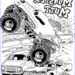 Monster Truck Coloring Pages Beautiful Collection 10 Monster Jam Coloring Pages To Print