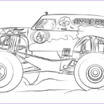 Monster Truck Coloring Pages Beautiful Gallery Grave Digger Monster Truck Coloring Page