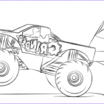 Monster Truck Coloring Pages Beautiful Images 10 Monster Jam Coloring Pages To Print