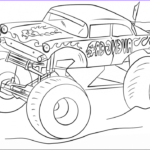 Monster Truck Coloring Pages Beautiful Photos 10 Monster Jam Coloring Pages To Print