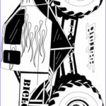 Monster Truck Coloring Pages Beautiful Photos Coloriage Monster Truck Grave Digger