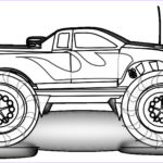 Monster Truck Coloring Pages Best Of Collection Free Printable Monster Truck Coloring Pages For Kids