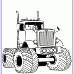 Monster Truck Coloring Pages Best Of Photos 20 Free Printable Truck Coloring Pages Everfreecoloring
