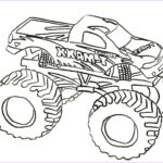 Monster Truck Coloring Pages Cool Stock Free Printable Monster Truck Coloring Pages For Kids