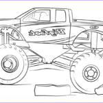 Monster Truck Coloring Pages Elegant Gallery Bigfoot Monster Truck Coloring Page