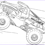 Monster Truck Coloring Pages Inspirational Gallery El Toro Loco Monster Truck Coloring Page