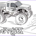 Monster Truck Coloring Pages Inspirational Images 20 Free Printable Monster Truck Coloring Pages