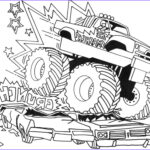Monster Truck Coloring Pages Luxury Collection Free Printable Monster Truck Coloring Pages For Kids