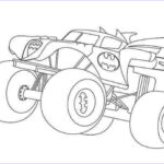 Monster Truck Coloring Pages Luxury Images Drawing Monster Truck Coloring Pages With Kids