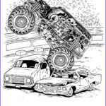 Monster Truck Coloring Pages New Photos Monster Truck Coloring Pages For Boys