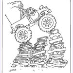 Monster Truck Coloring Pages Unique Photos Coloring Pages For Kids By Mr Adron Printable Monster